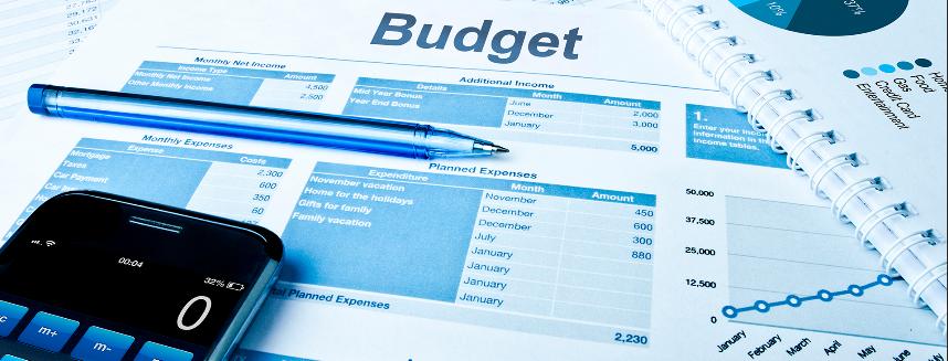 budget and calculator