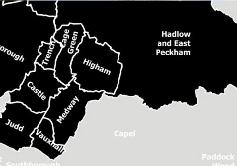 tonbridge map