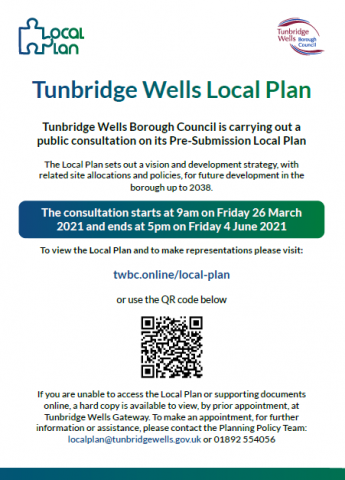 Poster re local plan